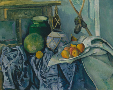 Paul Cézanne - Still Life with a Ginger Jar and Eggplants
