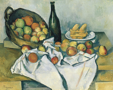 Paul Cézanne - The Basket of Apples