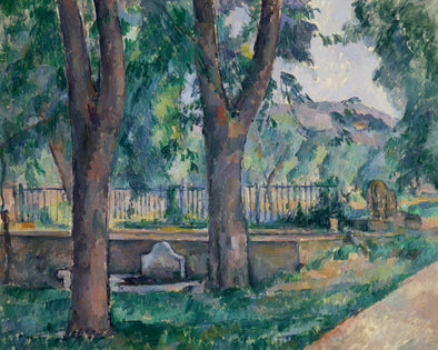 Paul Cézanne - The Pool at the Jas de Bouffan