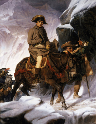 Paul Delaroche - Bonaparte Crossing the Alps