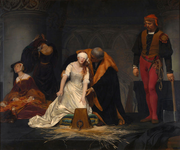 Paul Delaroche - The Execution of Lady Jane Grey
