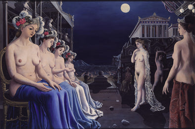 Paul Delvaux - The Great Sirens