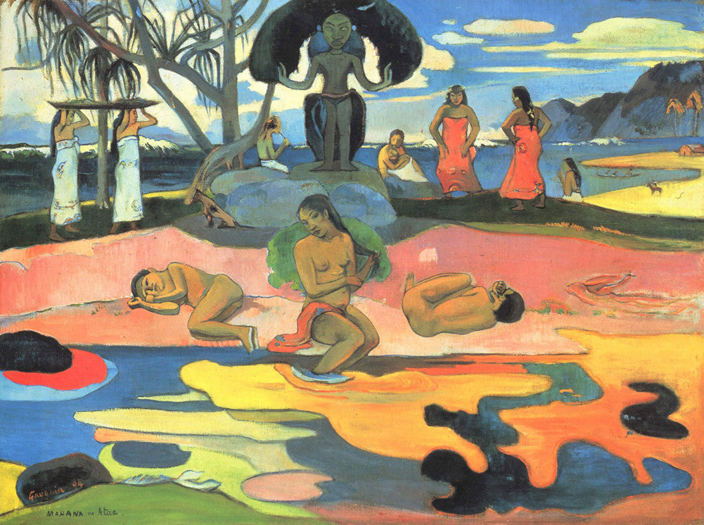 Paul Gauguin - Day of the God (Mahana no Atua)