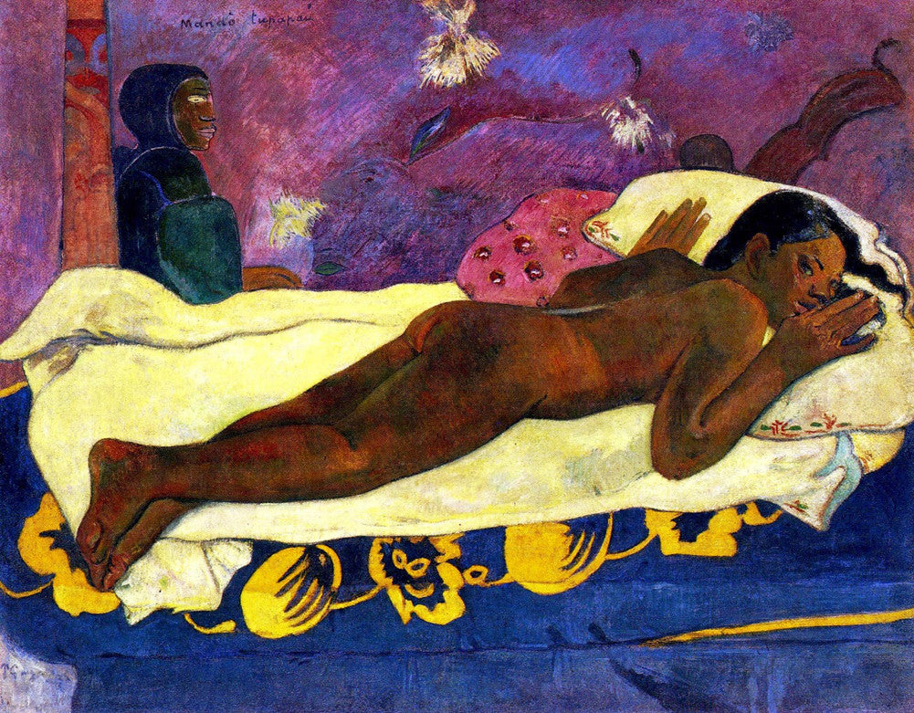 Paul Gauguin - Manau Tupupau (The Spirit of the Dead Watches)