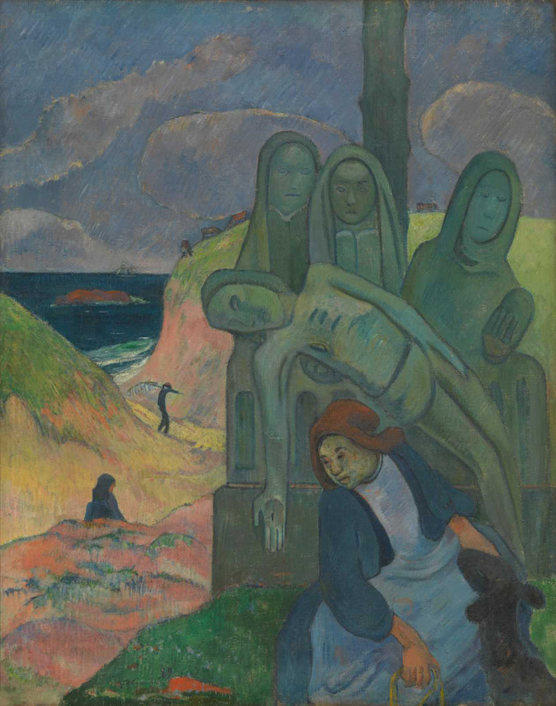 Paul Gauguin - The Green Christ
