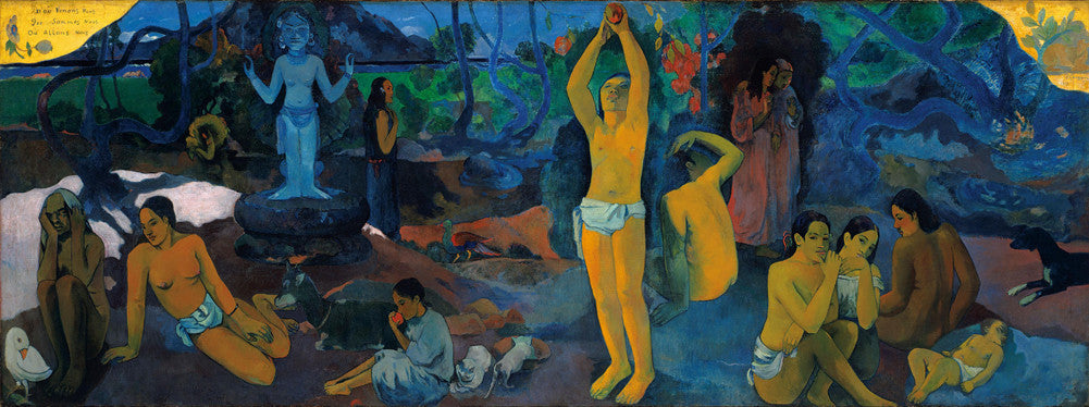 Paul Gauguin - Where Do We Come From ? What Are We ? Where Are We Going ?