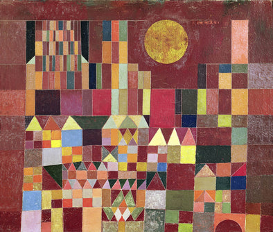 Paul Klee - Castle and Sun