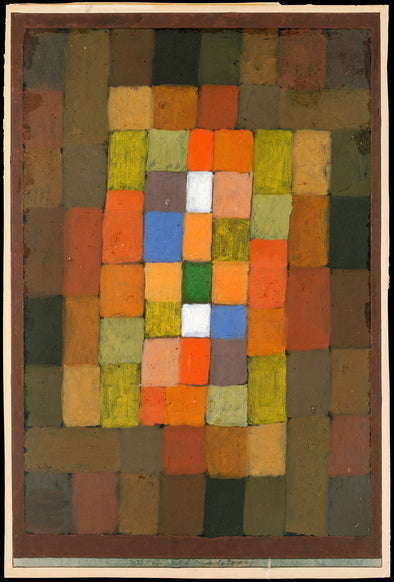 Paul Klee - Static Dynamic Gradation