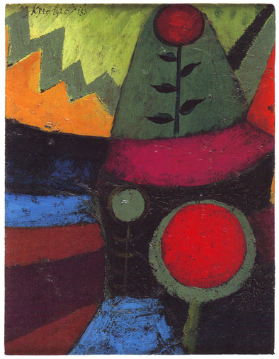 Paul Klee - Three Flowers
