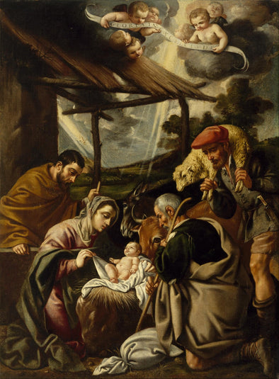 Pedro Orrente - The Adoration of the Shepherds (1580-1645)