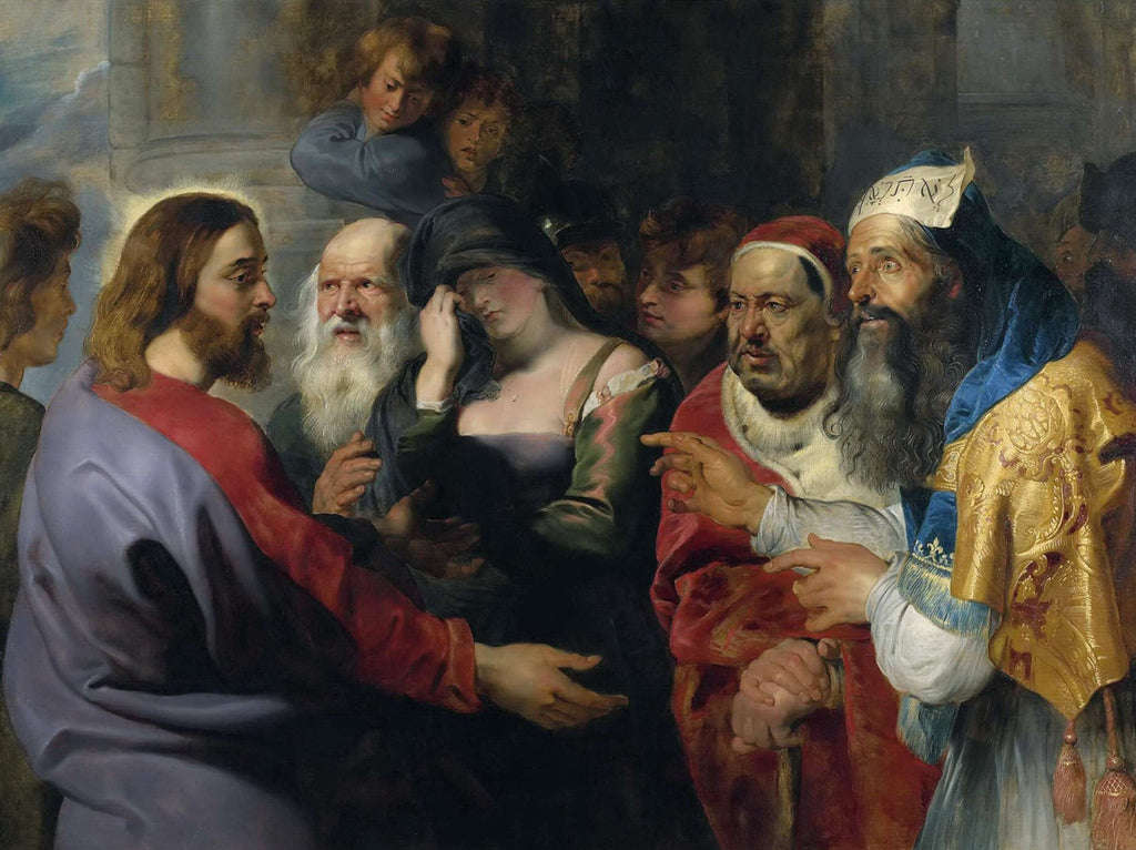 Peter Paul Rubens - Christ and the Adulteress
