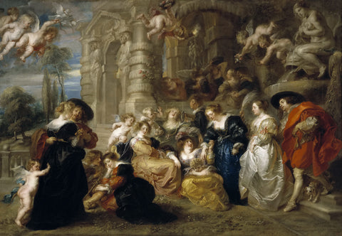 Peter Paul Rubens - Love Garden