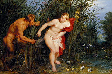 Peter Paul Rubens - Pan and Syrinx
