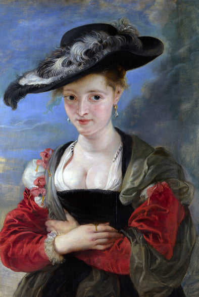 Peter Paul Rubens - Portrait of Susanna Lunden
