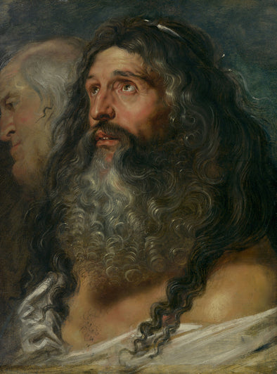 Peter Paul Rubens - Study of Two Heads