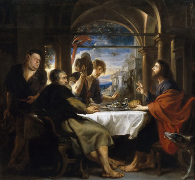 Peter Paul Rubens - Supper at Emmaus