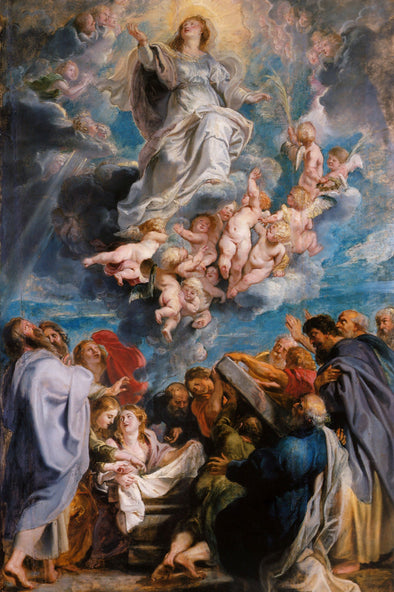 Peter Paul Rubens - The Assumption of the Virgin Mary into Heaven