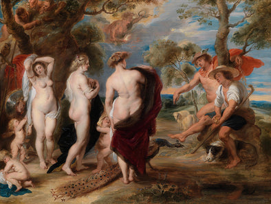 Peter Paul Rubens - The Judgment of Paris (1636)