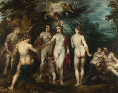 Peter Paul Rubens - The Judgment of Paris (1639)