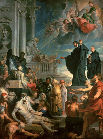 Peter Paul Rubens - The Miracles of St. Francis Xavier