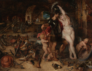 Peter Paul Rubens - The Return from War Mars Disarmed by Venus
