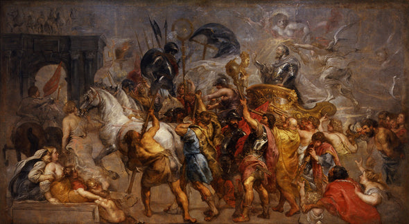 Peter Paul Rubens - The Triumphal Entry of Henry IV into Paris