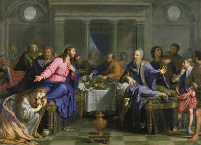 Philippe de Champaigne - Christ in the House of Simon the Pharisee