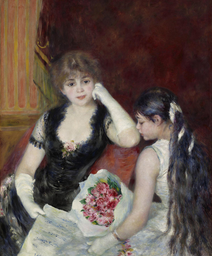 Pierre-Auguste Renoir - A Box at the Theater (At the Concert)