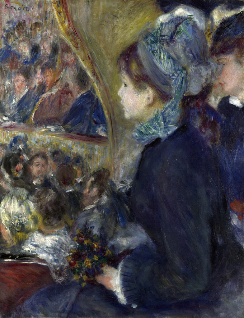 Pierre-Auguste Renoir - At the Theatre