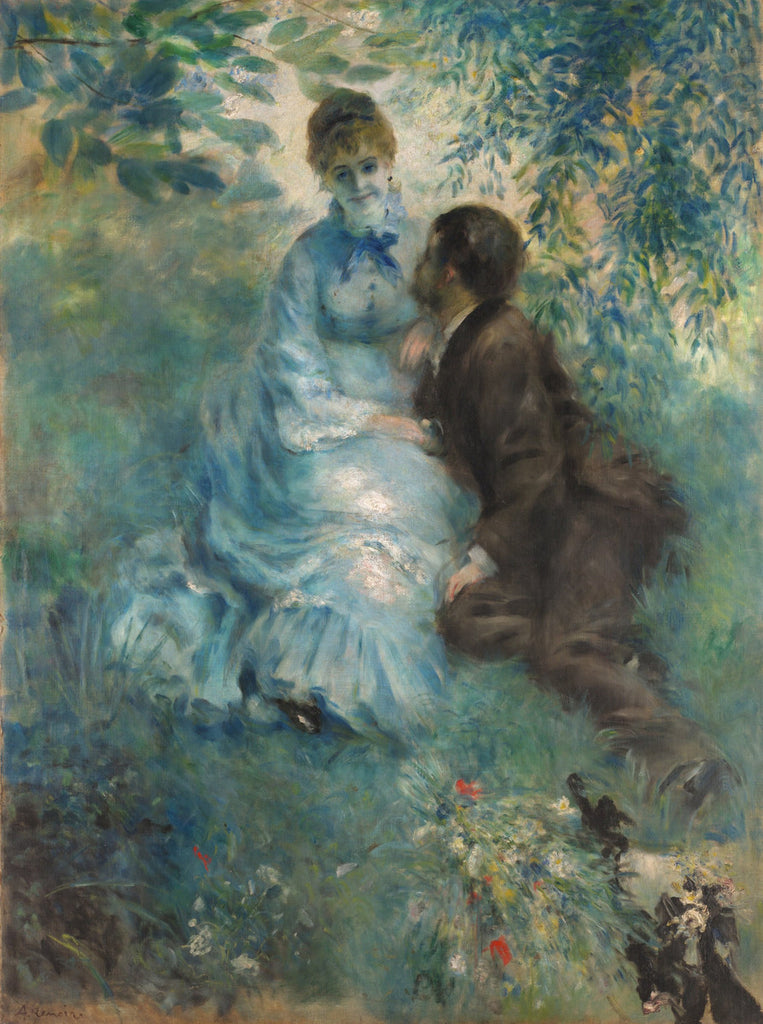Pierre-Auguste Renoir - Lovers