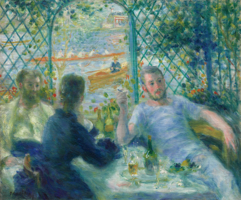 Pierre-Auguste Renoir - Lunch at the Restaurant Fournaise (The Rowers' Lunch)