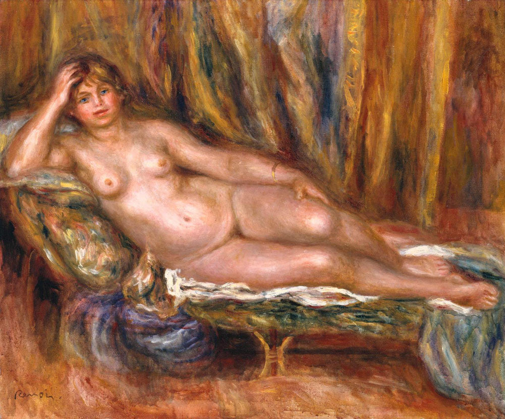 Pierre-Auguste Renoir - Nude on a Couch