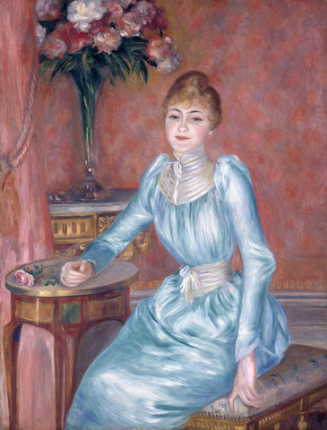 Pierre-Auguste Renoir - Portrait of Madame Bonnieres