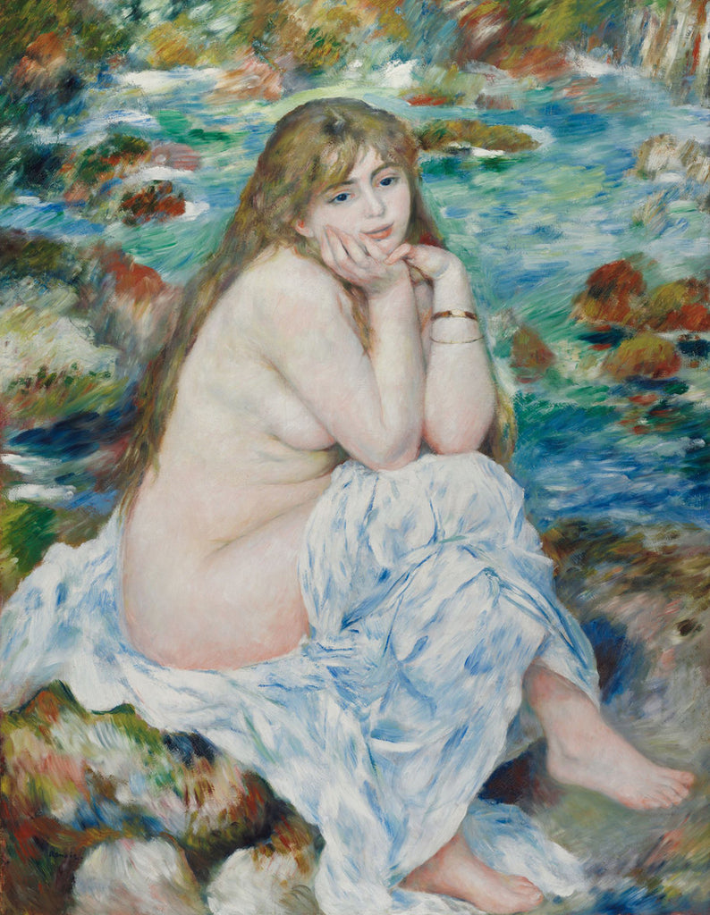 Pierre-Auguste Renoir - Seated Bather