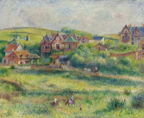 Pierre-Auguste Renoir - The House of Blanche Pierson, Pourville