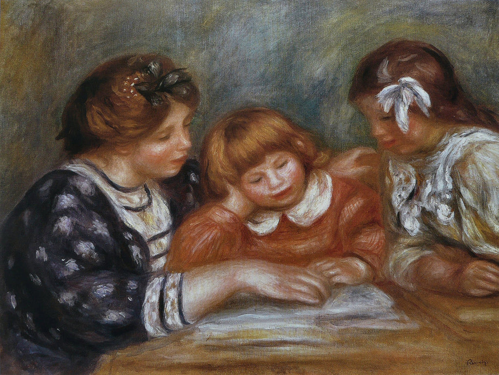 Pierre-Auguste Renoir - The Lesson
