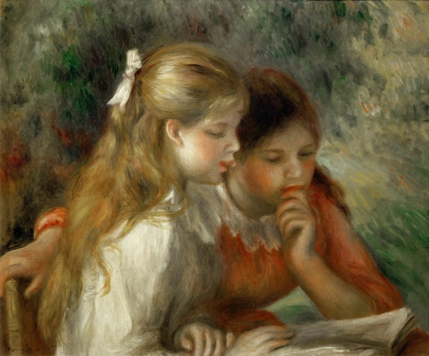 Pierre-Auguste Renoir - The Reading