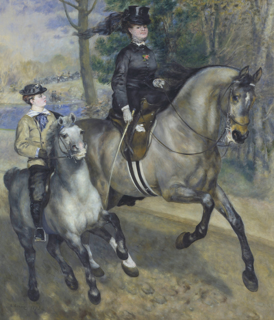 Pierre-Auguste Renoir - The Ride