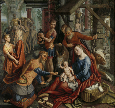 Pieter Aertsen - The Adoration of the Magi