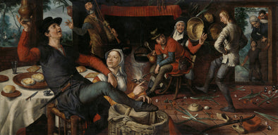 Pieter Aertsen - The Egg Dance