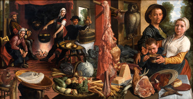 Pieter Aertsen - The Fat Kitchen