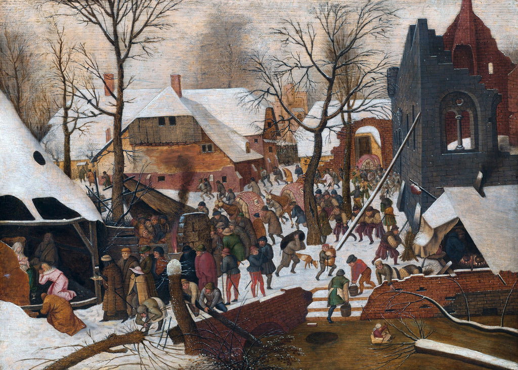 Pieter Bruegel the Elder - Adoration of the Kings in the Snow
