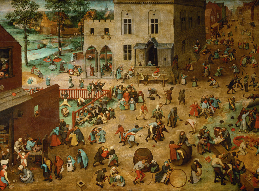 Pieter Bruegel the Elder - Children's Games