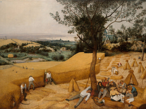Pieter Bruegel the Elder - The Harvesters