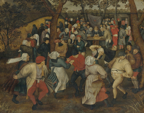 Pieter Bruegel the Elder - The Outdoor Wedding Feast