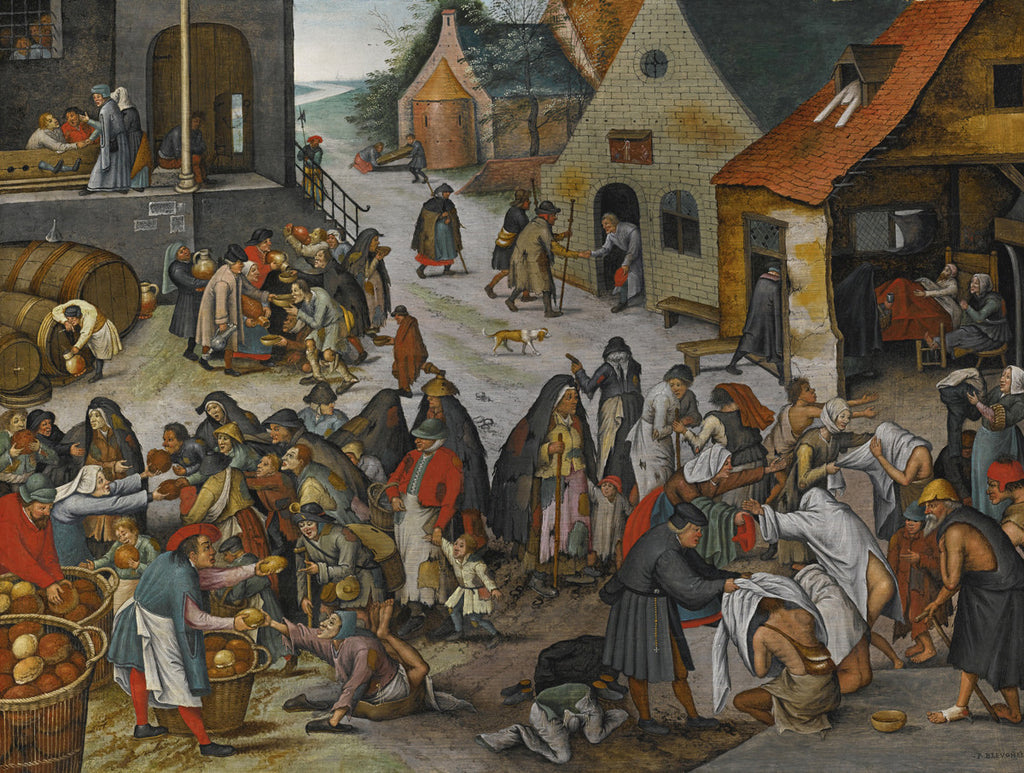 Pieter Bruegel the Elder - The Seven Acts of Mercy
