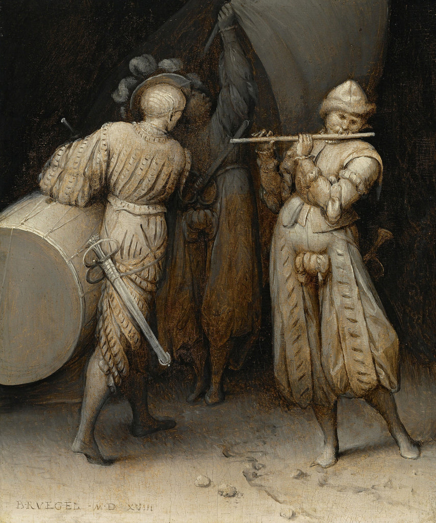 Pieter Bruegel the Elder - The Three Soldiers