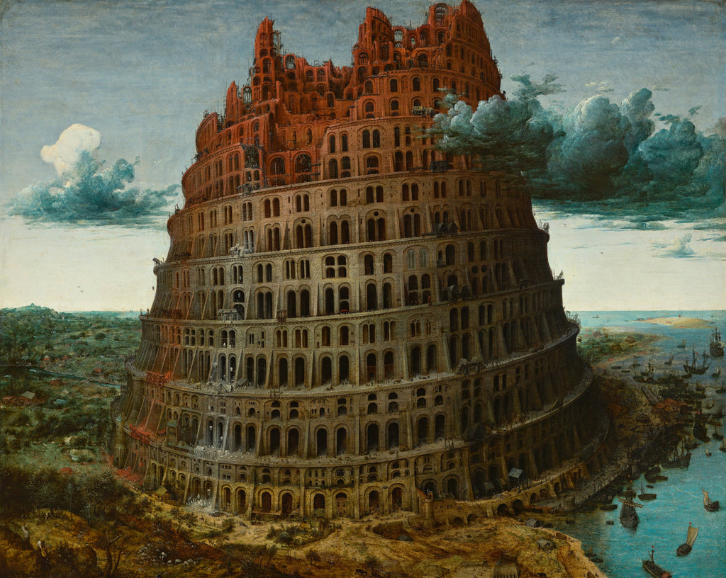 Pieter Bruegel the Elder - The Tower of Babel (Rotterdam)