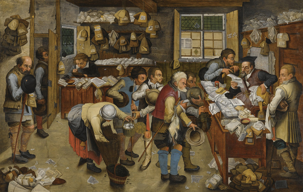 Pieter Bruegel the Elder - The Village Lawyer's Office