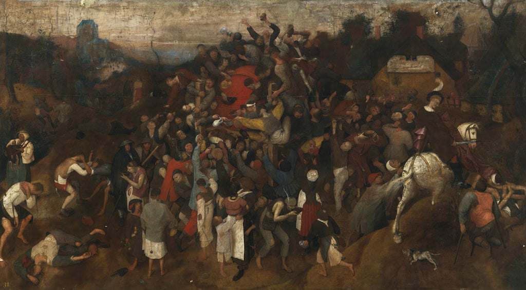 Pieter Bruegel the Elder - The Wine of Saint Martins Day